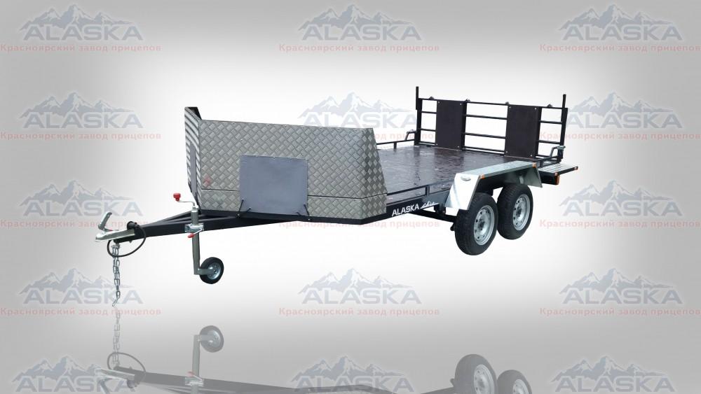 Аляска 71432 Ракета 4,0х2,0 для трех снегоходов (базовая комплектация)