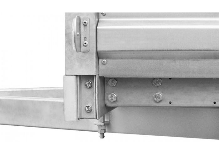 МЗСА 817710.014 1,8х1,2 с высоким бортом (базовая комплектация)